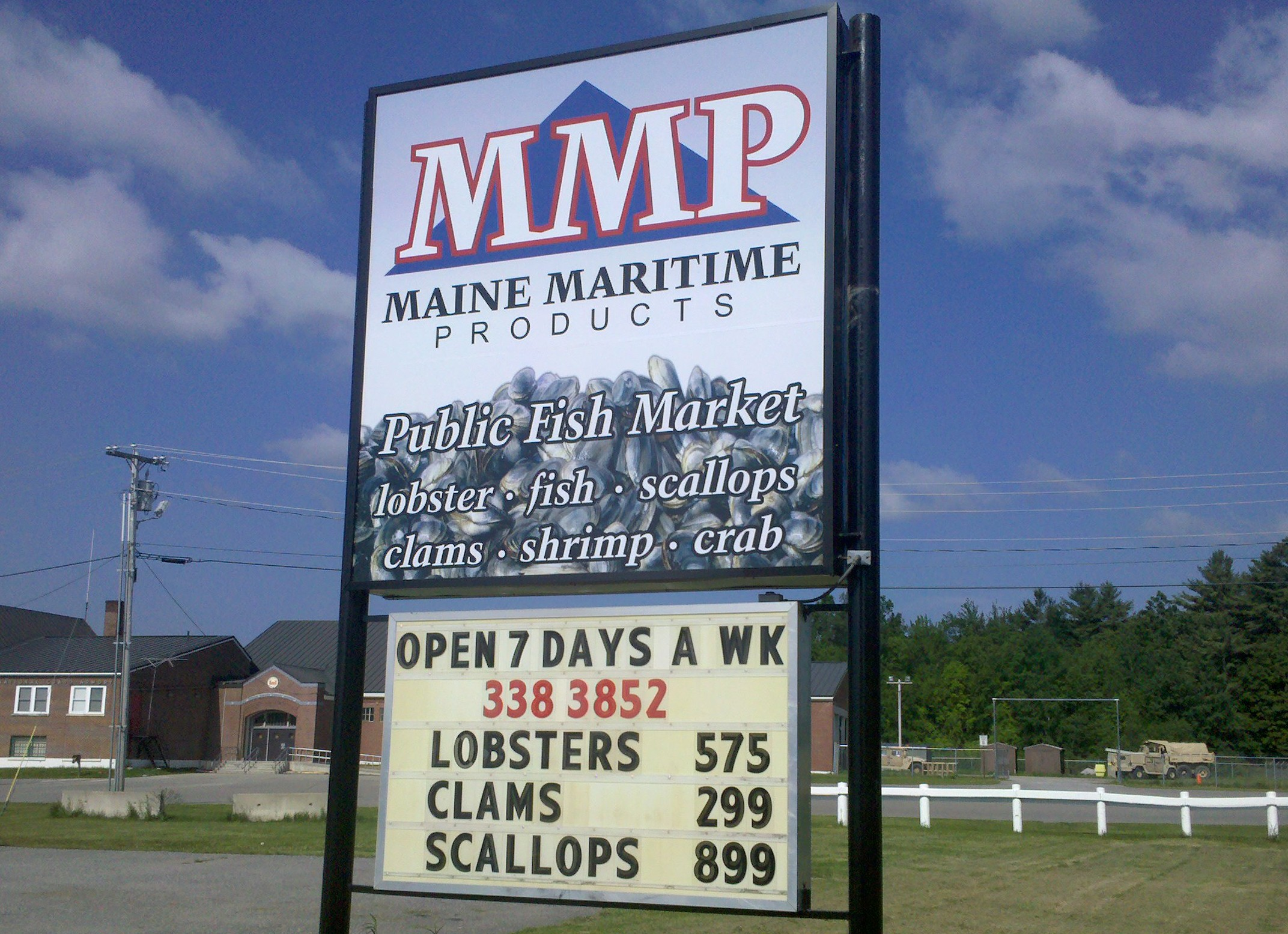 MMP retail sign