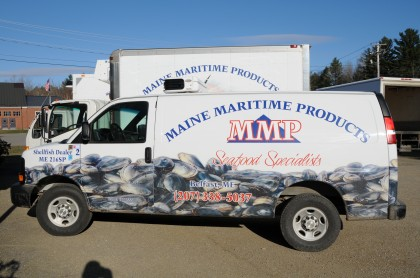 MMP delivery trucks